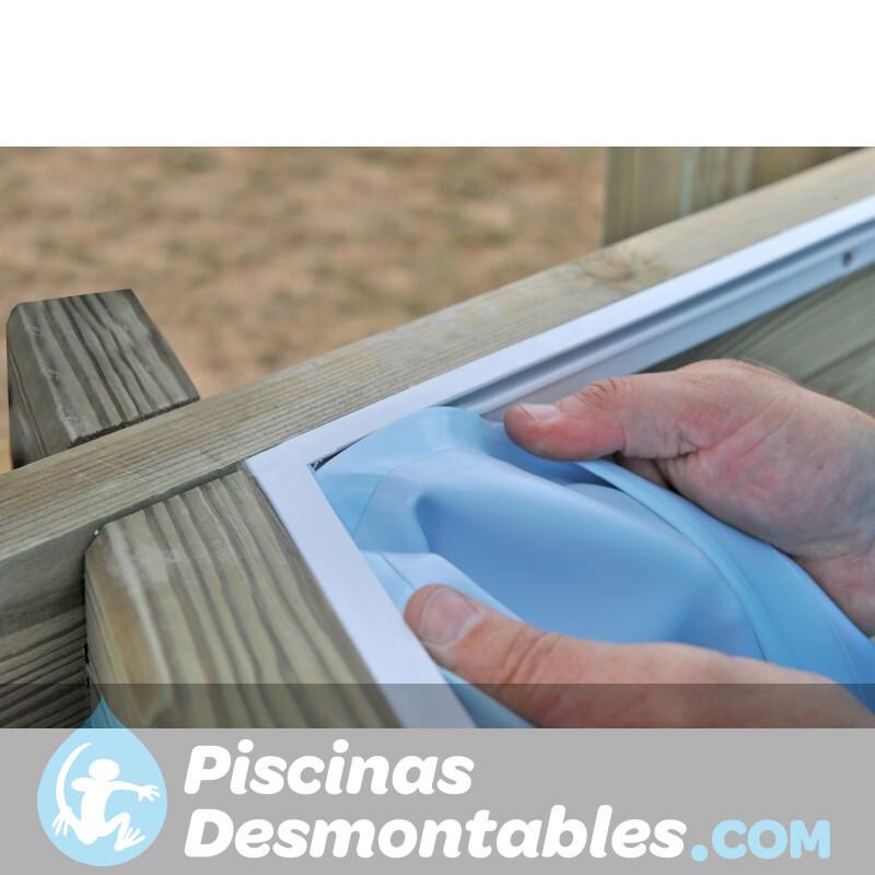 Cubiertas de Verano para Piscinas de Composite Gre