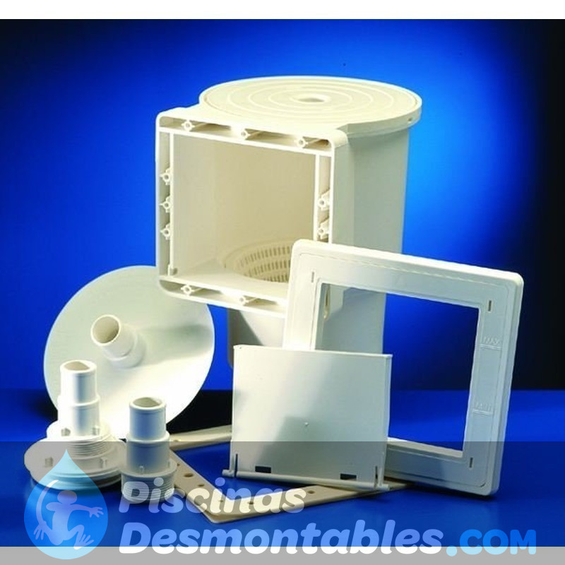 Escalera seguridad 98 cm 2x2 pelda os gre es090 for Piscina hinchable 2x2