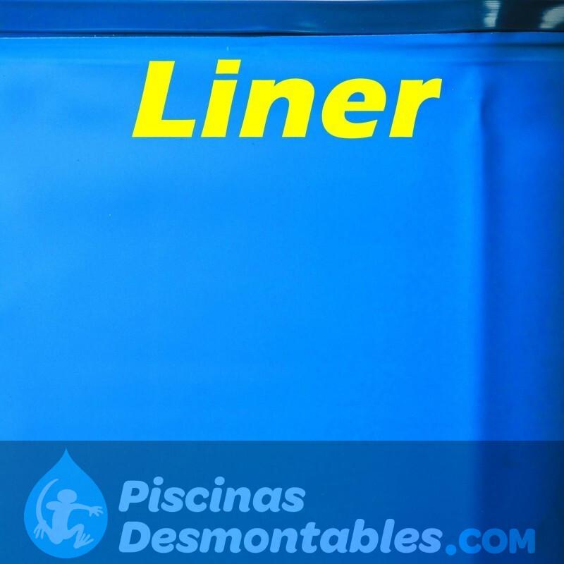 Liner Azul para piscinas ovaladas de Gre