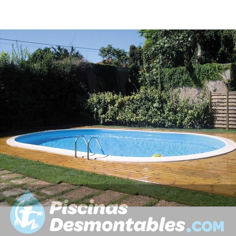 Liner para piscinas de madera sunbay for Piscinas liner precios