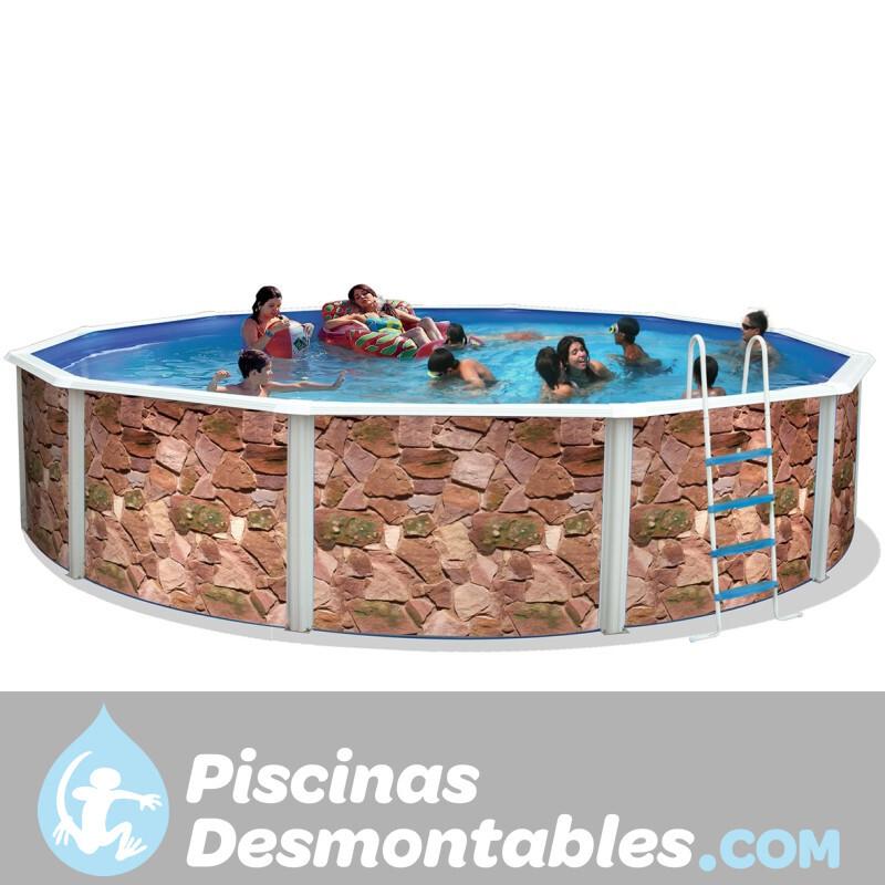 Piscina Tubular Toi Basics Fucsia 300x55 3111