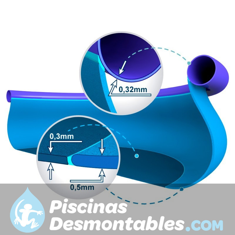 Piscina Intex Rectangular Ultra Frame 732x366x132 cm 26362