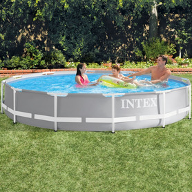 Piscina Intex Hinchable Transparente 203x51 cm 57489