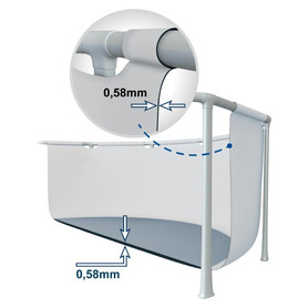 Piscina Hinchable Spray Tiburon 229x226x107 cm 57433