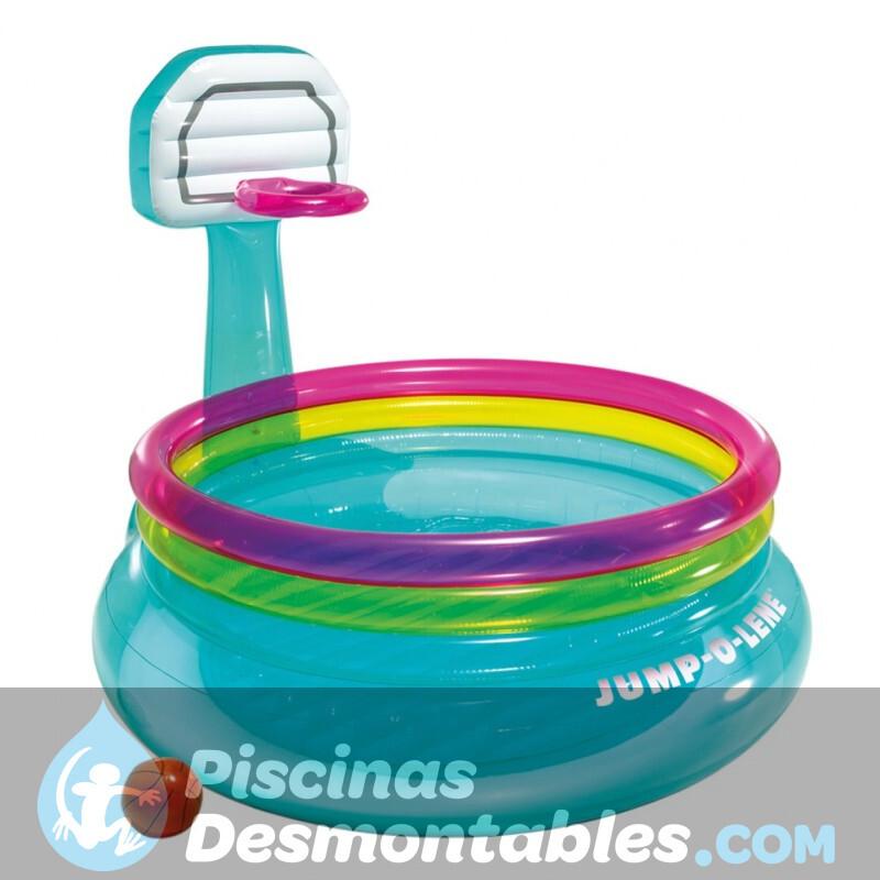 Cubierta invierno piscina toi circular for Piscinas desmontables toi