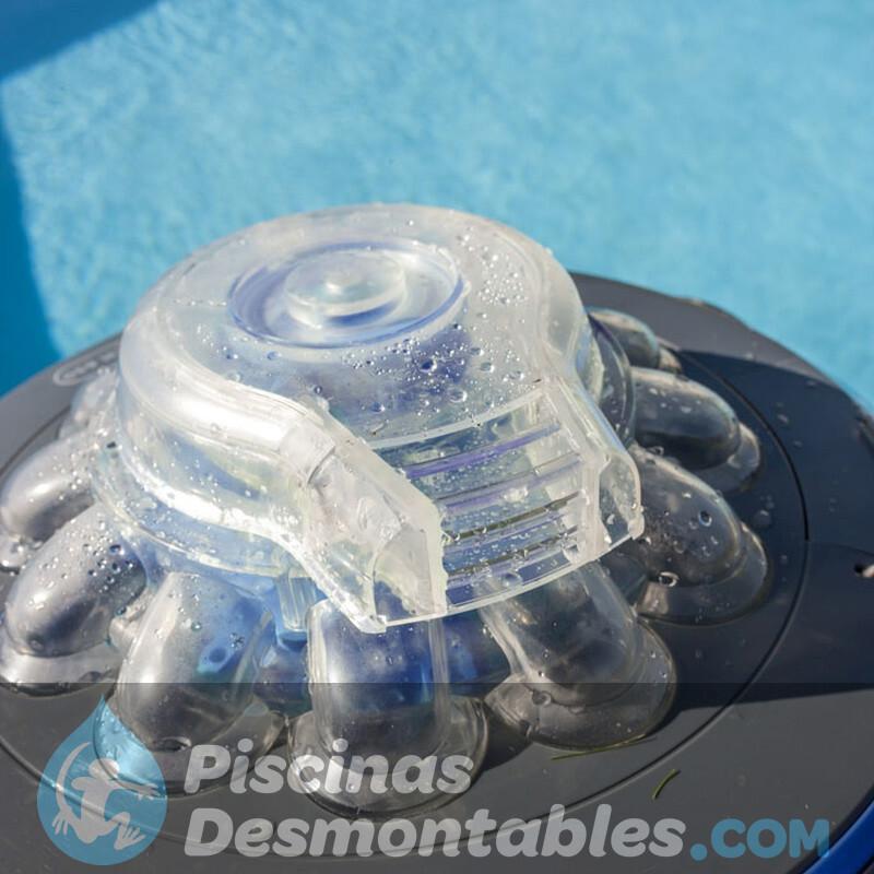 Silla de playa compact con 7 posiciones multifibra y asa incorporada