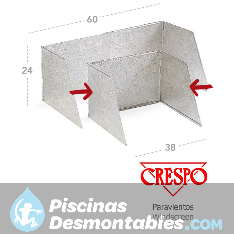 Piscina Intex Prisma Frame 400x200x100 cm 26776