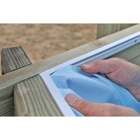 Escalera Seguridad 98 cm 2x2 peldaños Gre ES090