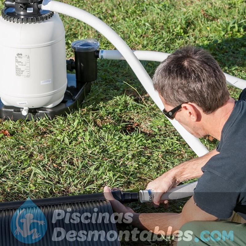 Lampara Led de Jardin Solar Intex 28689