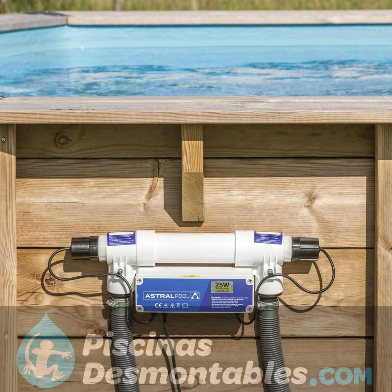 Depuradora de Cartucho Intex Krystal Clear 5678 L/H 28636