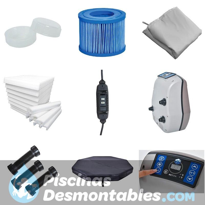 piscina bestway rectangular frame 412x201x122 56241 56244