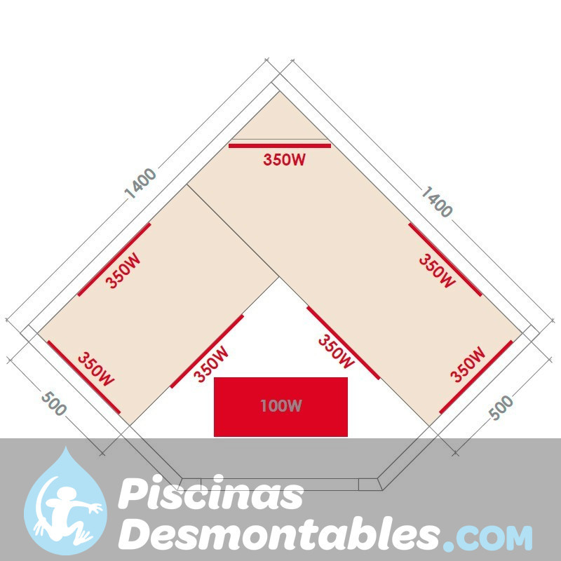 Piscina Bestway Steel Pro Ultra Reforzada 549x132 56232 56280