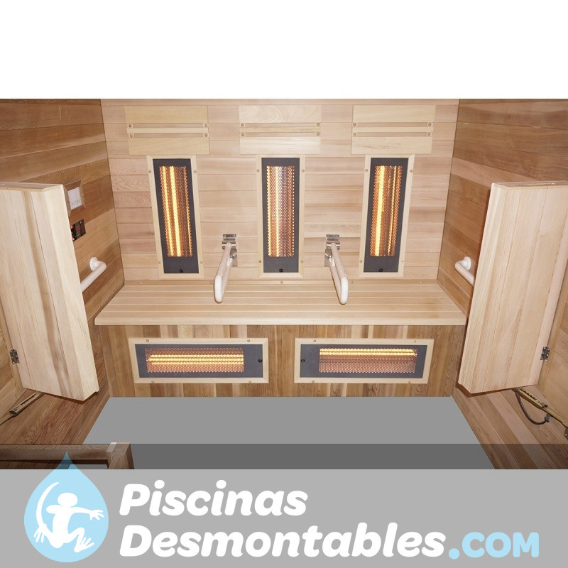 Piscina Kokido Premium Madera 490x293x110 PJ003SF