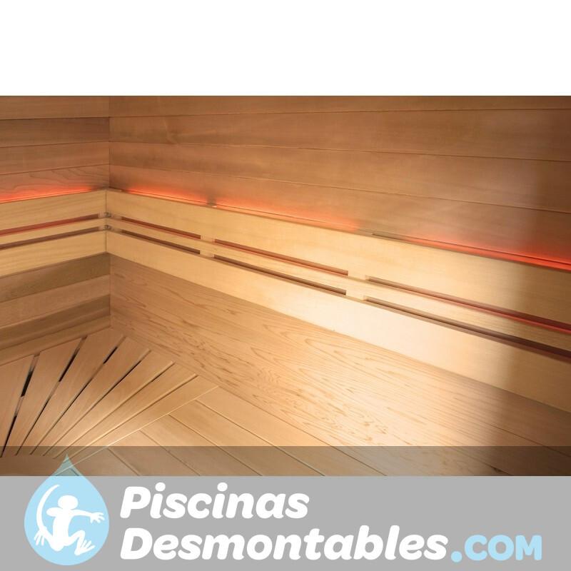 Piscina Kokido Premium Madera 490x293x110 PJ003