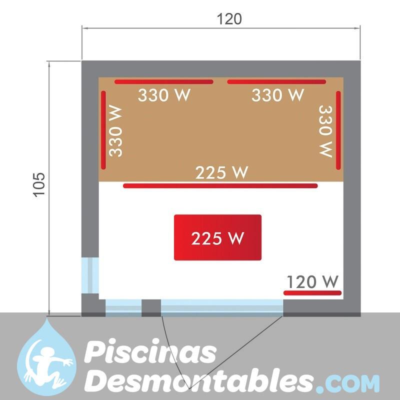 Piscina Kokido Premium Madera 345x255x110 PJ005