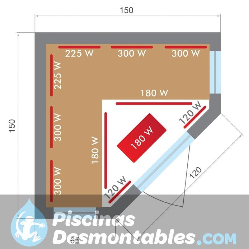 Piscina Kokido Premium Madera 645x410x130 PM004SF