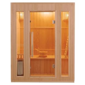 Sauna Inflarrojos Pino 120x120x194 HEMLOCK
