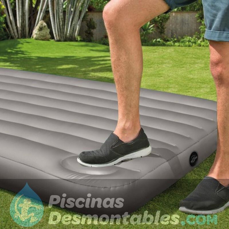 Silla cama de playa con 7 posiciones de nytexline y asa incorporada