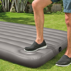 Silla cama de playa con 7 posiciones de multifibra y asa incorporada
