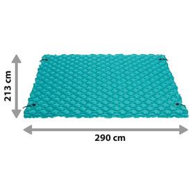 Sillón reforzado de aluminio respaldo alto 7 posiciones y multifibra