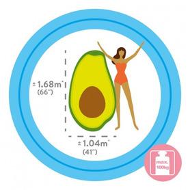 Silla de playa con 7 posiciones y cabezal compact