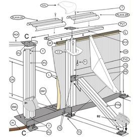 Combo Depuradora de Cartucho y Cloracion Salina Intex 54616