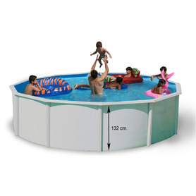 Purespa Octogonal Jets Marron Beig 216x71 Intex 55019