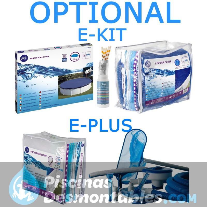Piscina Gre Enterrada Sumatra 420x120 KPE4227