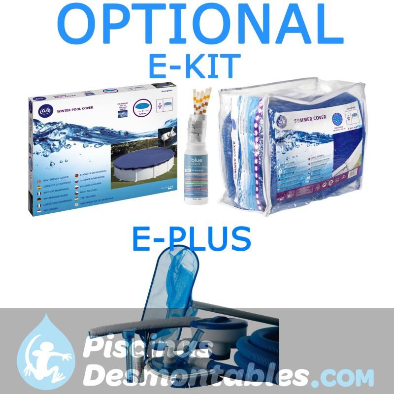 Piscina StarPool Blanca 610x375x120 P610ECO
