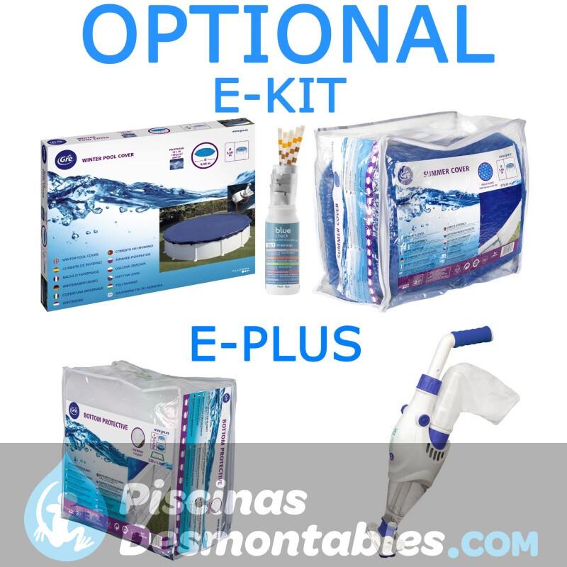 Piscina Gre Fidji 610x375x120 KIT610ECO