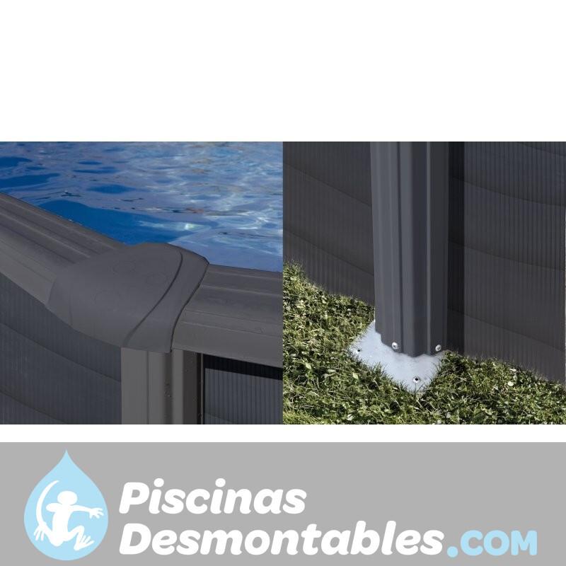 Piscina StarPool Imitación Madera 460x120 P460W