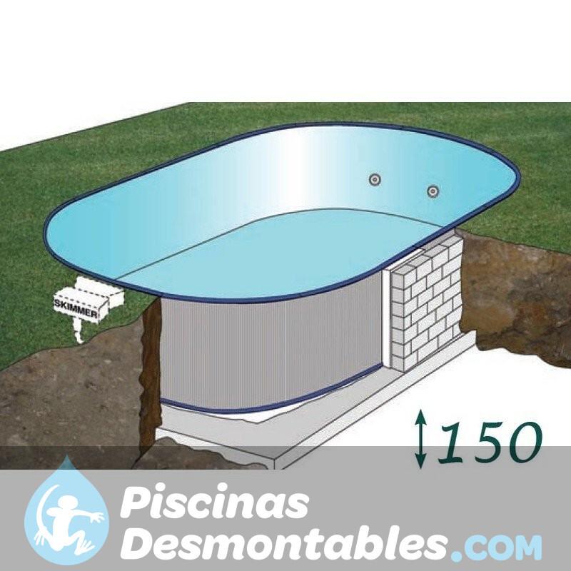 Piscina StarPool Sin Columnas 610x375x132 PROV6188