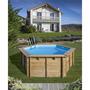 Piscina StarPool Imitación Madera 610x375x120 P610W