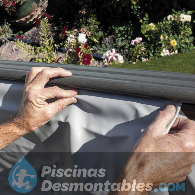 Piscina StarPool Imitación Madera 730x375x120 P730W