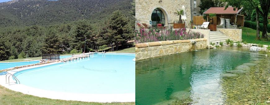 piscinas sobre suelo
