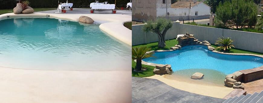 piscinas de agua salada