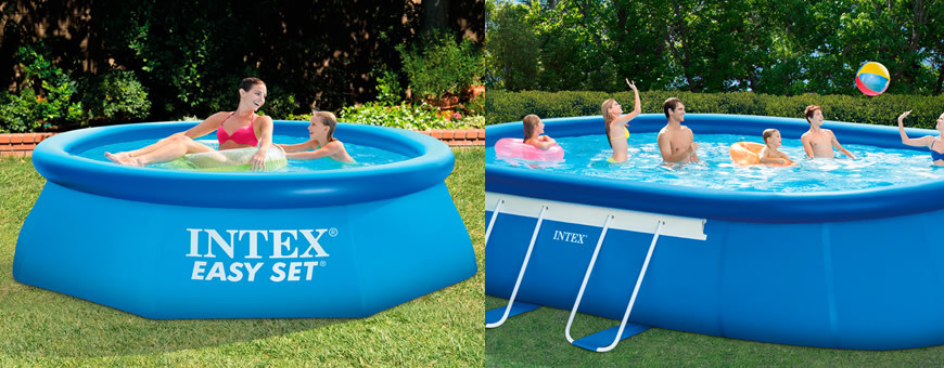 Piscinas intex easy set for Albercas intex precios
