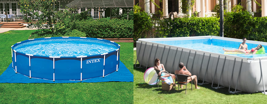 Piscinas intex for Accesorios para piscinas intex