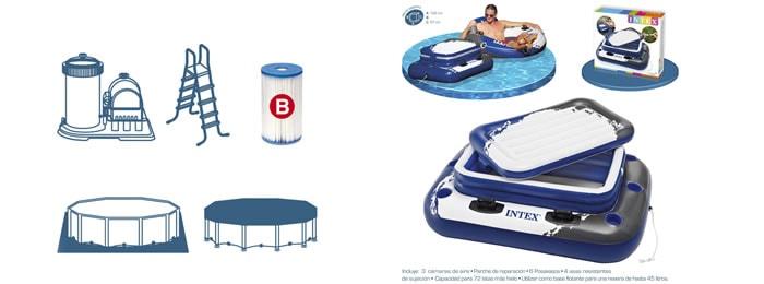 Accesorios piscinas intex for Intex piscinas accesorios