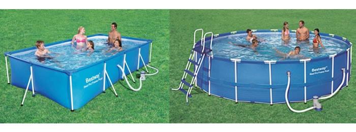 piscina desmontable 300x201x66 cm. bestway 56078