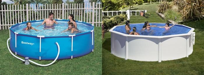 Las piscinas para jardín permiten que, durante los calurosos meses de