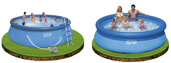 Piscinas portatiles for Piscinas desmontables baratas intex